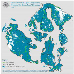 OPALCO Broadband Coverage Map